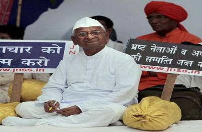 Government cancelled trains to stall protest against Lokpal, says Hazare