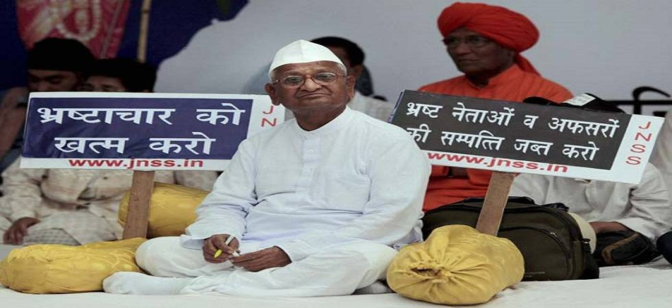 Anna Hazare is all set to go on an indefinite hunger strike in Delhi on Friday (Image Source: PTI)