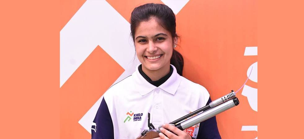 Manu Bhaker shoots gold in ISSF junior World Cup (Image Source: PTI)