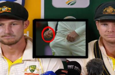 Watch   Another ball-tampering video of Bancroft during the Ashes emerges