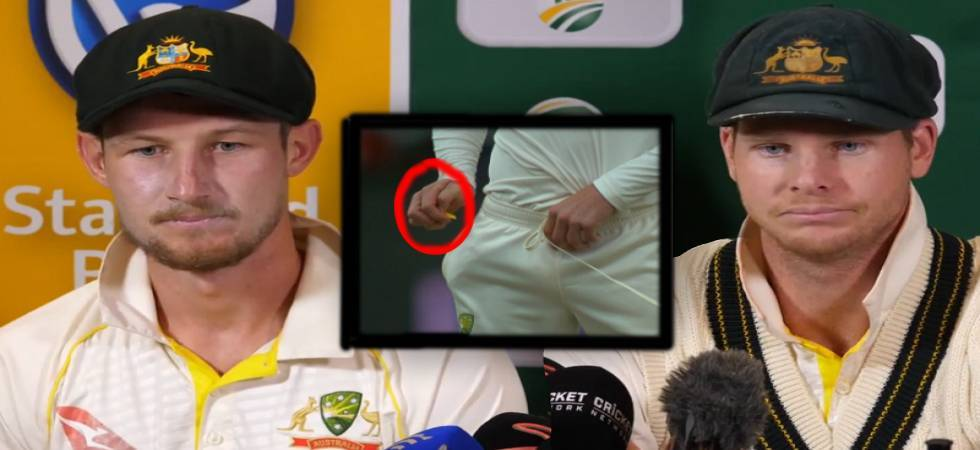 A video of Cameron Bancroft went viral on internet on Sunday