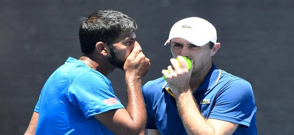Rohan Bopanna and Edouard Roger-Vasselin crashed out of the Miami Open (Image Source: PTI)