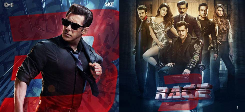 Race 3 New Poster Salman Khan Strike Pose With Entire Cast Says
