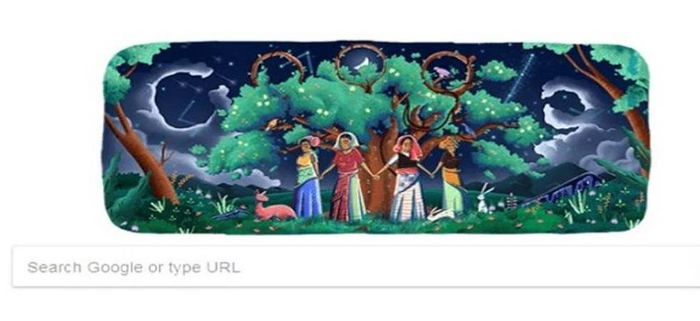 Search engine leader Google is dedicating a colourful doodle to honour the historical event