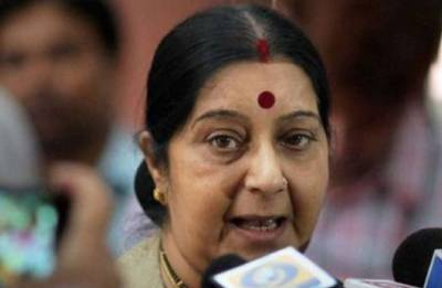 EAM Sushma Swaraj re-tweets Congress' poll assessing her 'failure' as Foreign Minister