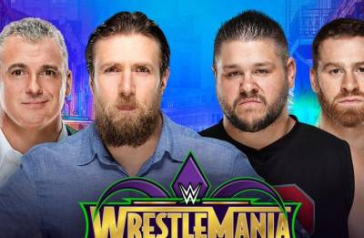 WWE Smackdown Live results: Daniel Bryan-Shane McMahon versus Kevin Owens-Sami Zayn CONFIRMED for Wrestlemania 34