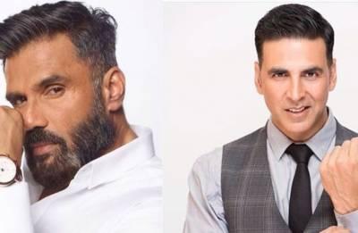 Akshay Kumar shares selfie with Suniel Shetty; Is Hera Pheri 3 on the cards?