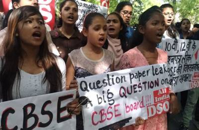 CBSE paper leak: Students, parents take to streets against re-exam, say it's 'pure torture'