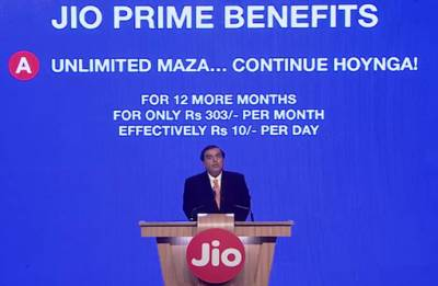 Jio extends benefits for existing Prime members by a year