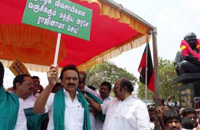 Cauvery issue: Tamil Nadu's Opposition parties to hold statewide shutdown protest on April 5