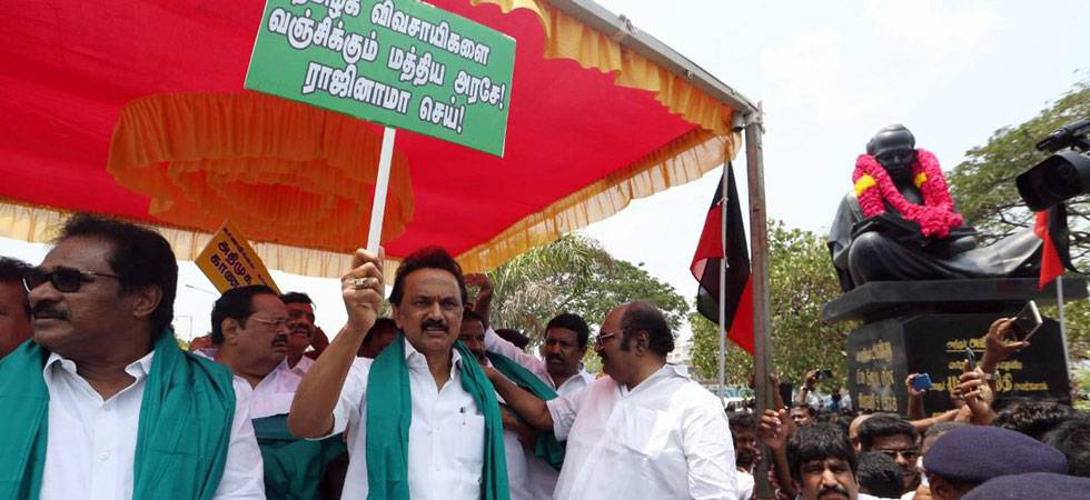 Cauvery issue: Tamil Nadu's Opposition parties to hold statewide shutdown protest on April 5 (Source: Twitter)