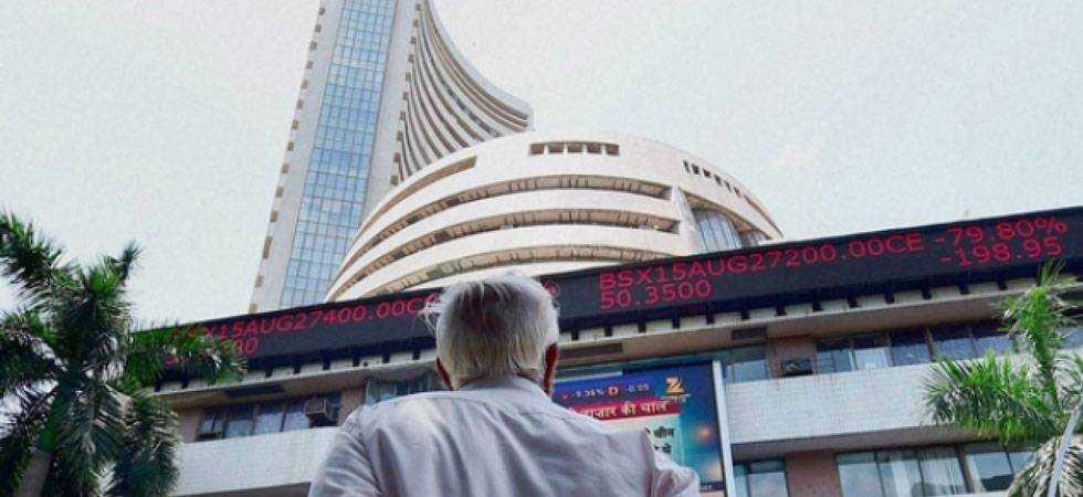 Sensex rises nearly 100 points ahead of RBI policy meet