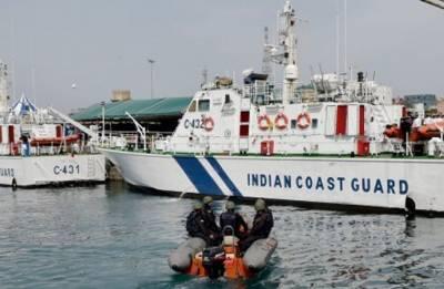 Indian, Korean coast guards hold joint exercise off Chennai coast