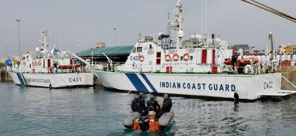 Indian, Korean coast guards hold joint exercise off Chennai coast
