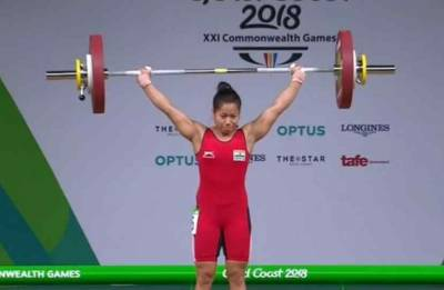 CWG 2018: Sanjita Chanu creates new record, clinches Gold in 53 kg category