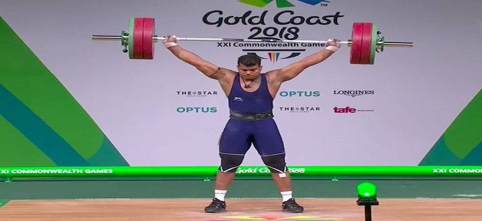 Venkat Rahul Ragala became the fourth Indian weightlifter to bag a gold medal (Source: PTI)