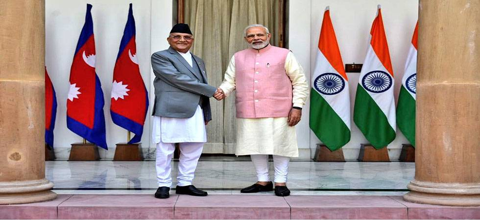 Modi holds talks with Oli, says India and Nepal to stop misuse of open border (Source- PTI)