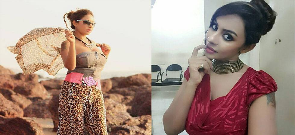 Aspiring Telugu actress strips in public, protests against casting couch (Source- Facebook)