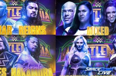 WWE Wrestlemania 34: Matches, start time, timings in India; Here's all you need to know