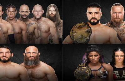 WWE NXT Takeover New Orleans results: New Champions crowned, Johnny Gargano reinstated back