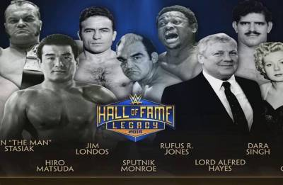 Wrestlemania 34: WWE inducts Indian wrestler Dara Singh in Hall of Fame class of 2018