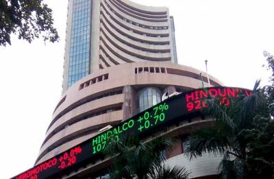 Sensex rises over 100 points on firm global cues, Nifty tops 10,400