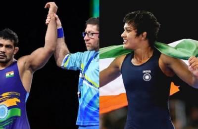 Gold Coast 2018: Sushil Kumar and Rahul Aware strike gold, Babita Phogat settles for silver