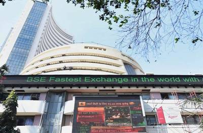 Sensex jumps 91 points on macro data, Nifty closes at 10,480-mark