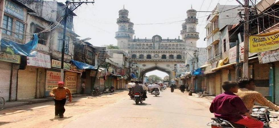 Swami Aseemanand and Bharat Mohanlal Rateshwar are out on bail in 2007 Mecca Masjid blast while three others are lodged in the central prison in Hyderabad under judicial remand.(PTI File Photo)