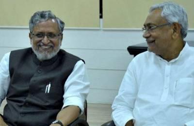 Nitish Kumar, Sushil Modi file nomination for Bihar council polls