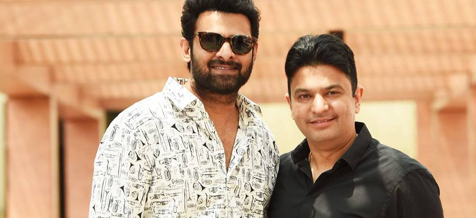 Bhushan Kumar collaborates with UV Creations to present Prabhas starrer Saaho (Source- Twitter)
