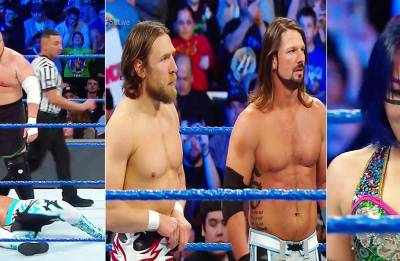 WWE Smackdown Live results: AJ Styles-Daniel Bryan TEAM up; Asuka, Samoa Joe join blue brand