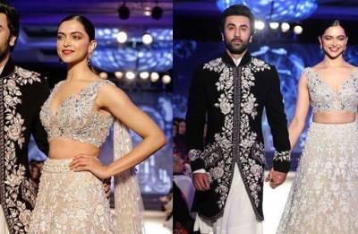 Mijwan 2018: Ex-lovers Ranbir Kapoor, Deepika Padukone slays it as they walk 'hand-in-hand' for Manish Malhotra