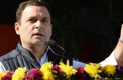 Country may burn, but Modi interested only in becoming PM again, says Rahul Gandhi