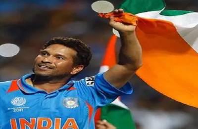 Sachin Tendulkar recalls 'happy dents' of World Cup triumph