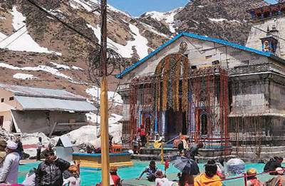 Portals of Kedarnath thrown open for devotees, laser show among new features for Pilgrims