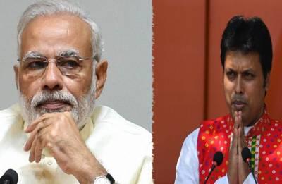 PM Narendra Modi summons Tripura CM Biplab Deb over controversial comments