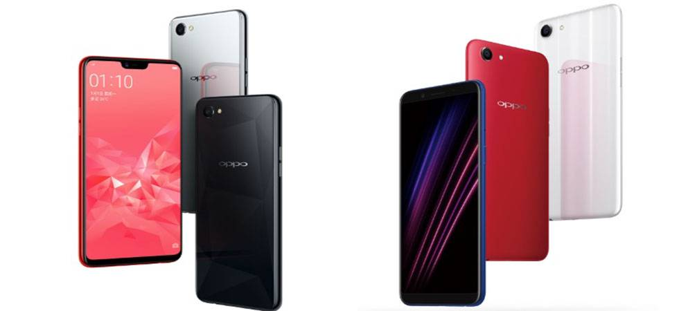 Oppo A3 with display notch launched(Source - Oppo Website)