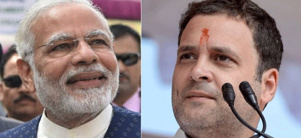Modi launches blistering attack on Rahul, urges K'taka to evict Cong (File Photo)