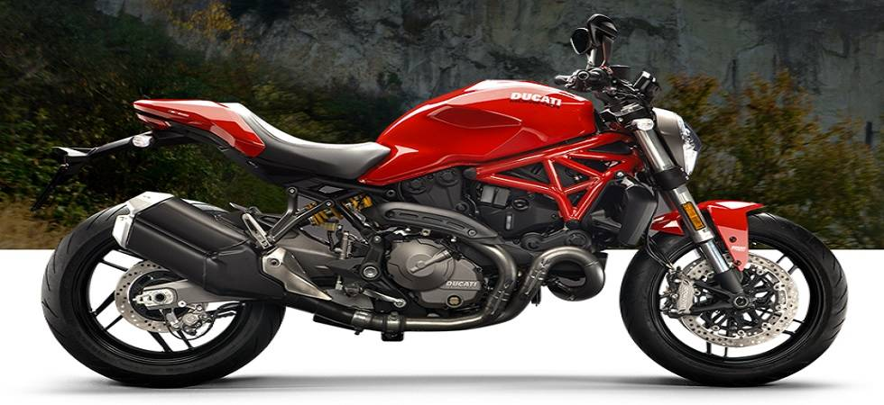 2018 Ducati Monster 821 launched in India at Rs 9.51 lakh (Source - Ducati Website)