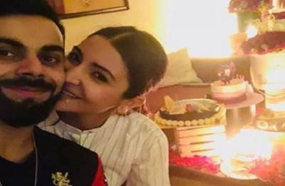 Virat Kohli celebrates love Anushka Sharma's birthday in a  special way (see pics)