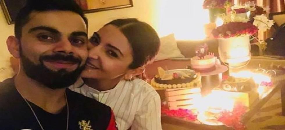 Virat Kohli and Anushka Sharma (Source: Anushka Sharma Twitter)