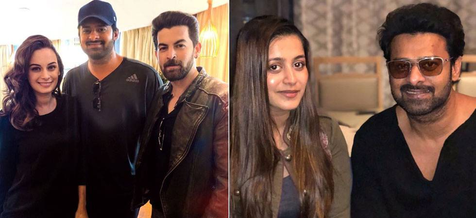Saaho: Prabhas' special gesture for Neil Nitin Mukesh, Rukmini makes him a DARLING once again
