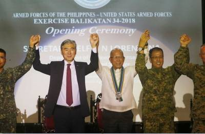 Balikatan exercises 2018: US, Philippines launch largest military drills under Duterte