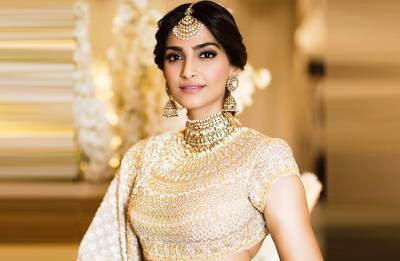 Sonam Kapoor-Anand Ahuja wedding: Neerja actress looks ETHEREAL in her sangeet outfit (see pics, videos)