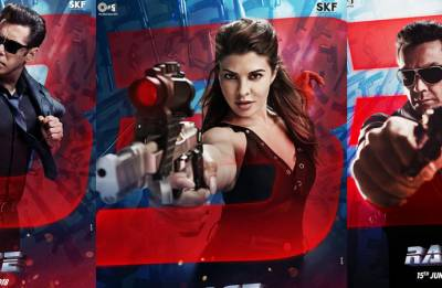 Race 3 new poster out: Jacqueline Fernandez, Bobby Deol to create problems for Salman 'Sikander' Khan? (see pic)