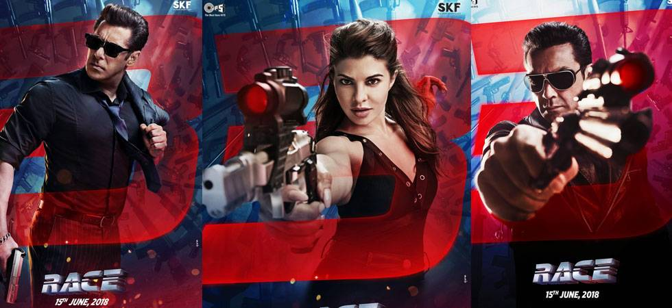 Race 3 poster out: Whose side Jacqueline Fernandez is on?