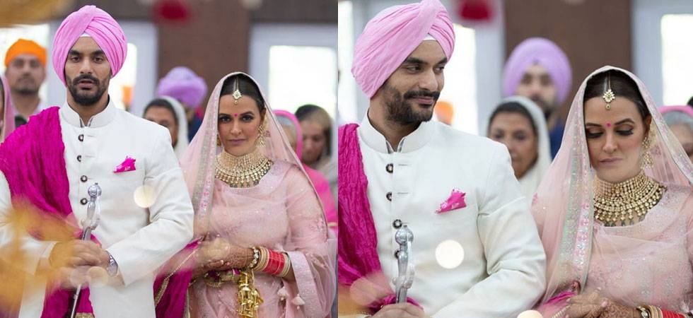 Neha Dhupia marries Angad Bedi in a private ceremony (see pics)