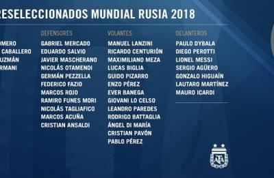 FIFA WORLD CUP 2018: Argentina announce 35-man squad; Icardi, Dybala make the cut