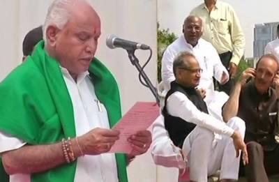 LIVE | Battle for Karnataka heats up as Congress, JD-S protest Yeddyurappa's swearing-in